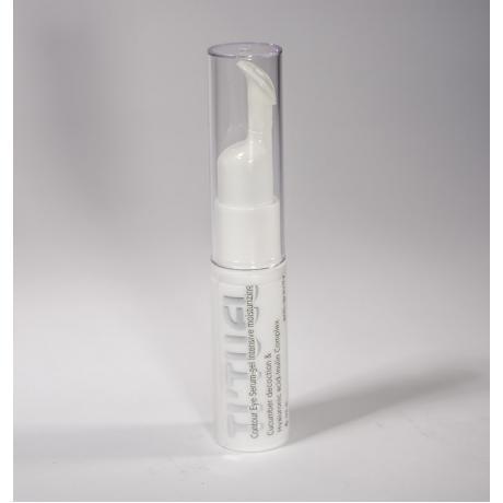 Гель сыворотка для контура глаз TI'TUEL с гиалуроновой кислотой и инулином на основе декокта огурца