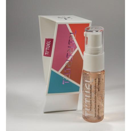 Маска пилинг для кожи лица в домашних условиях TI'TUEL Фруктовое очищение на основе декокта цветков суданской розы и комплекса альфагидрокислот