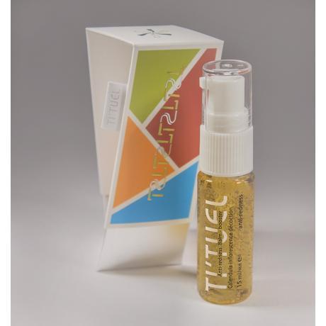 Бальзам бустер для лица TI'TUEL при покраснениях кожи на основе декокта соцветий календулы и растительного антикупероз комплекса