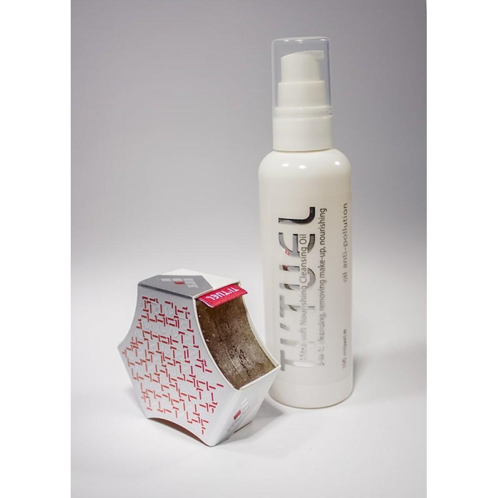 Система очищения для кожи лица TI'TUEL Эффективное очищение: гидрофильное масло и крем мыло для лица