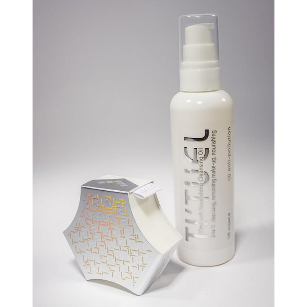 Система очищения для кожи лица TI'TUEL Активное очищение: гидрофильное масло и крем мыло для лица