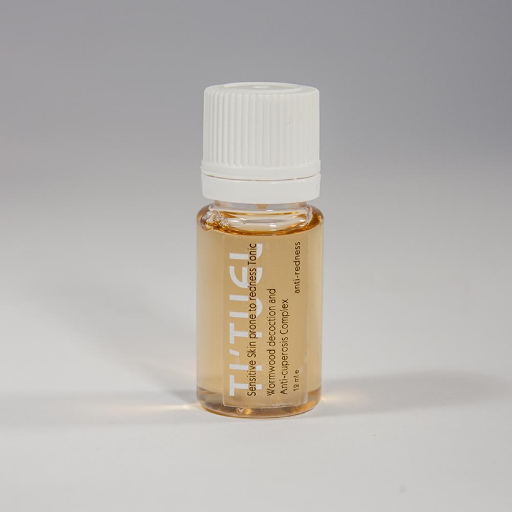 Пробник тоника для лица TI'TUEL на основе декокта травы полыни горькой и растительного антикупероз-комплекса