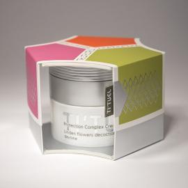 Дневной крем для кожи лица TI'TUEL Комплексная защита на основе декокта цветков липы и комплекс: натуральные растительные масла-инулин